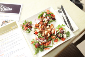 grilled octopus salad from spring menu