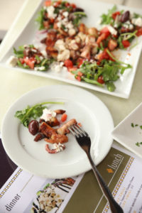 grilled Greek style octopus